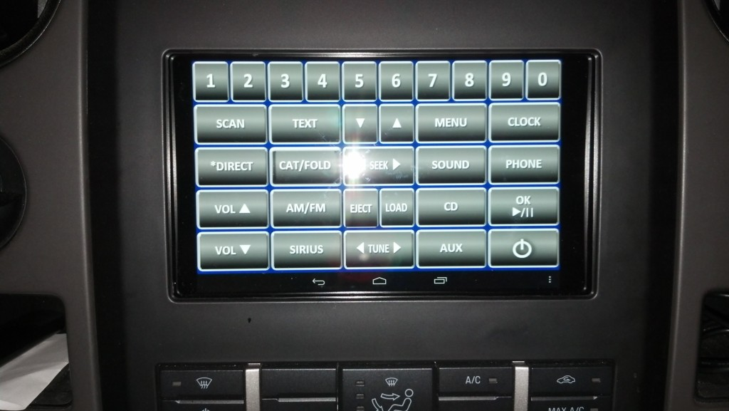 Ford Panel Installed